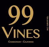 99 Vines Chardonnay 750ML NV