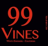 99 Vines White Zinfandel 750ML NV