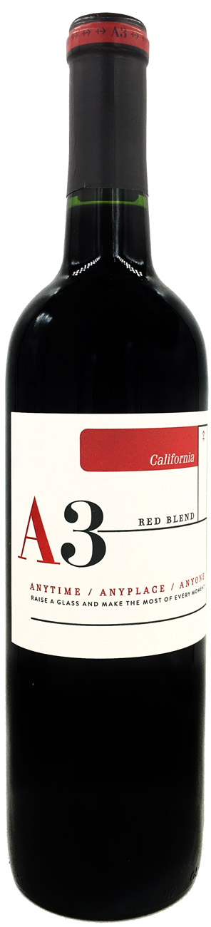 A3 Red Blend Wine 750ML