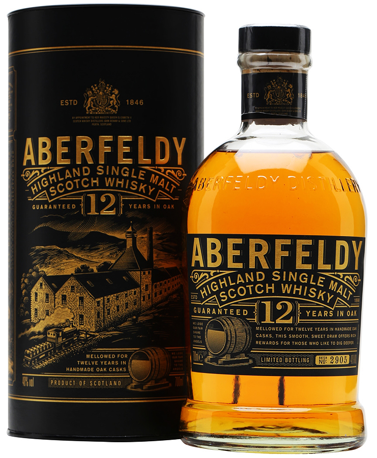 Aberfeldy 12 Year Old Single Malt Scotch