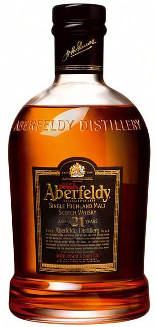 Aberfeldy 21 Year Old Single Malt Scotch
