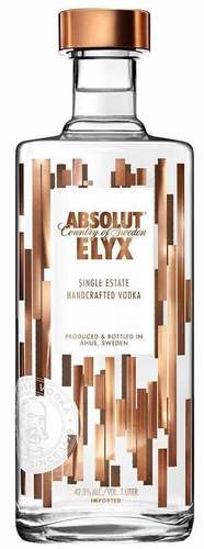 Absolut Elyx Single Estate Vodka 1L