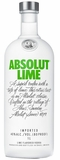 Absolut Lime Flavored Vodka 1L