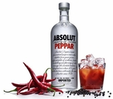 Absolut Peppar Vodka 1L (case of 12)