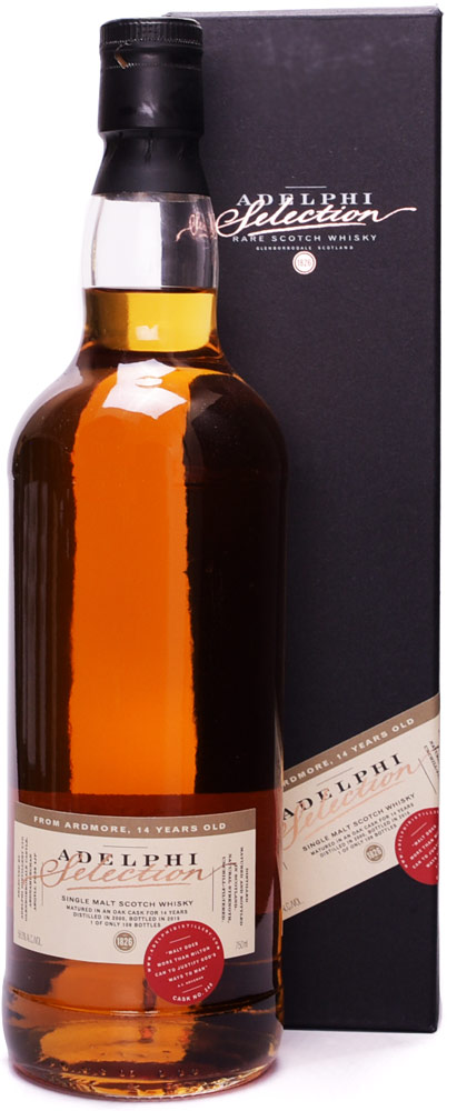 Adelphi Selection Ardmore 14 Year Old Single Malt Scotch 2000