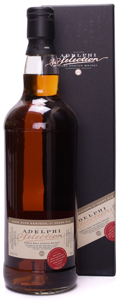 Adelphi Selection Glen Garioch 21 Year Old Single Malt Scotch 1993