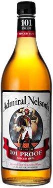 Admiral Nelson 101 Proof Spiced Rum 1L