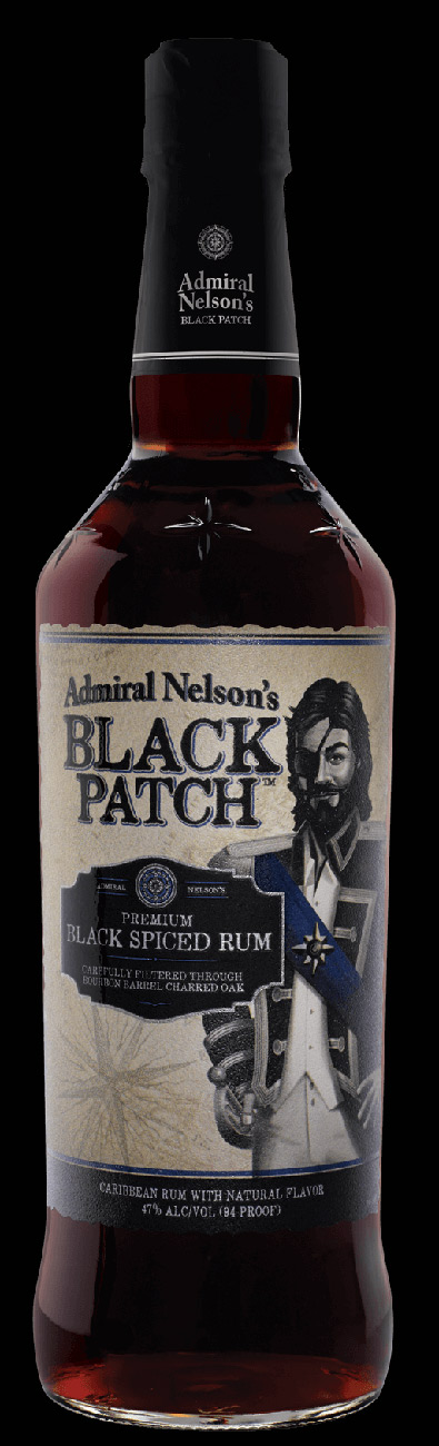 Admiral Nelson Black Patch Spiced Rum Case Of 12