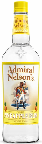 Admiral Nelson Pineapple Flavored Rum 1L