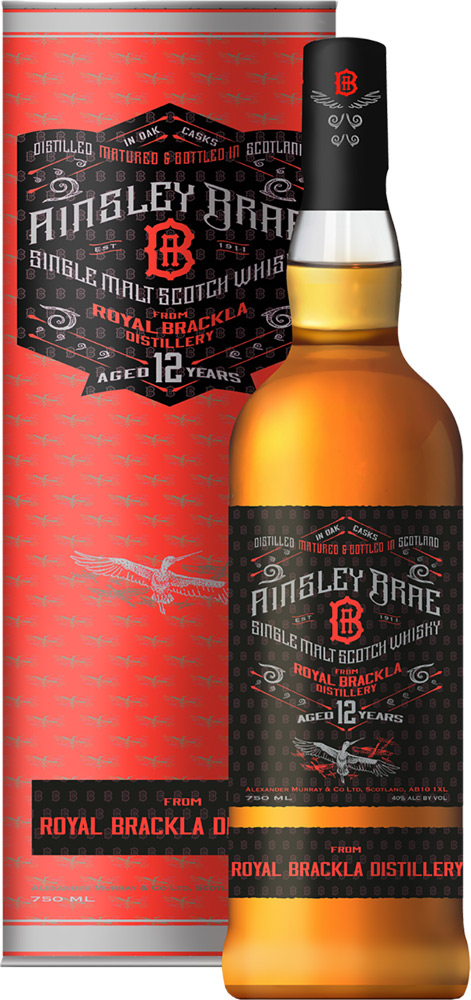 Ainsley Brae Royal Brackla 12 Year Old Single Malt Scotch