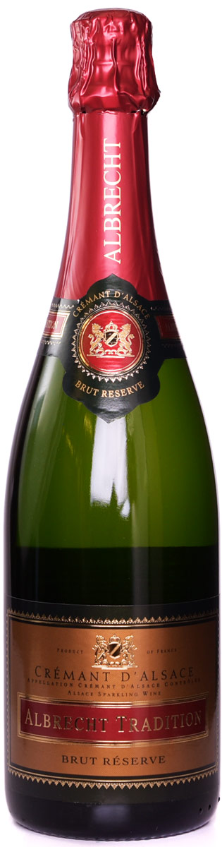 Albrecht Tradition Cremant Brut Reserve (case of 12)