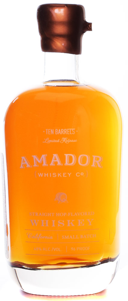 Amador Ten Barrels Straight Hop Whiskey
