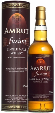 Amrut Fusion Single Malt Indian Whisky