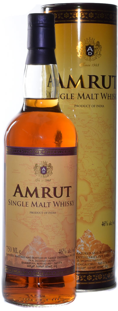 Amrut Traditional Single Malt Indian Whisky
