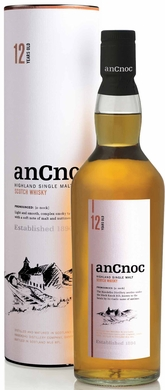 Ancnoc 12 Year Old Single Malt Scotch