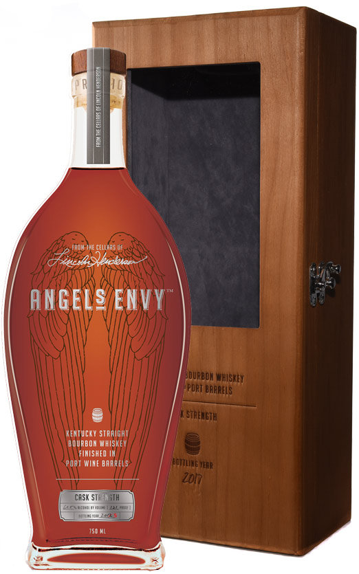 Angel's Envy Cask Strength Port Barrel Finished Bourbon
