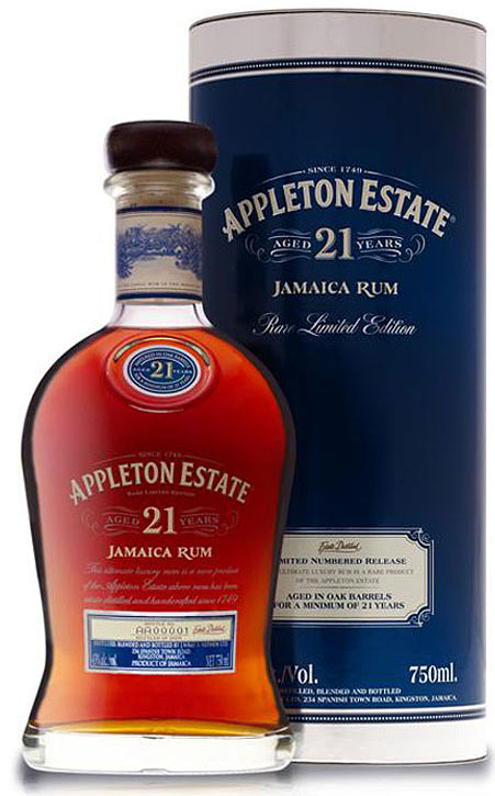 Appleton Estate 21 Year Old Jamaican Rum 750ML
