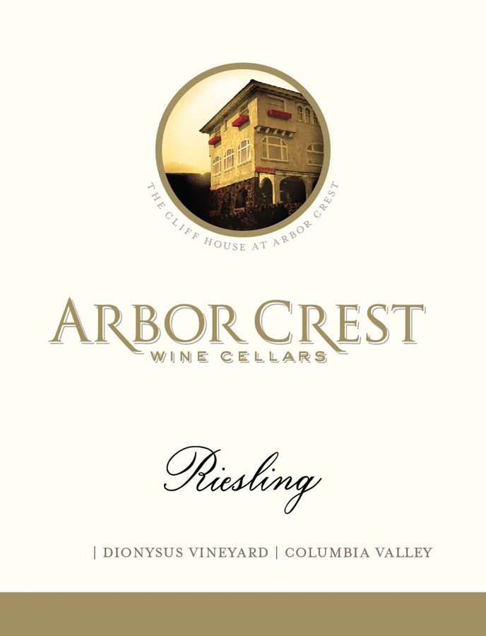 Arbor Crest Riesling Dionysus Columbia Valley (case of 12)