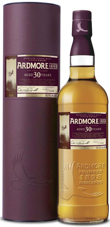 Ardmore 30 Year Old Single Malt Scotch 750ML