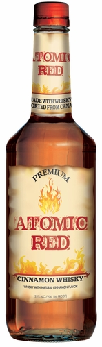 Atomic Red Cinnamon Flavored Whisky 1L