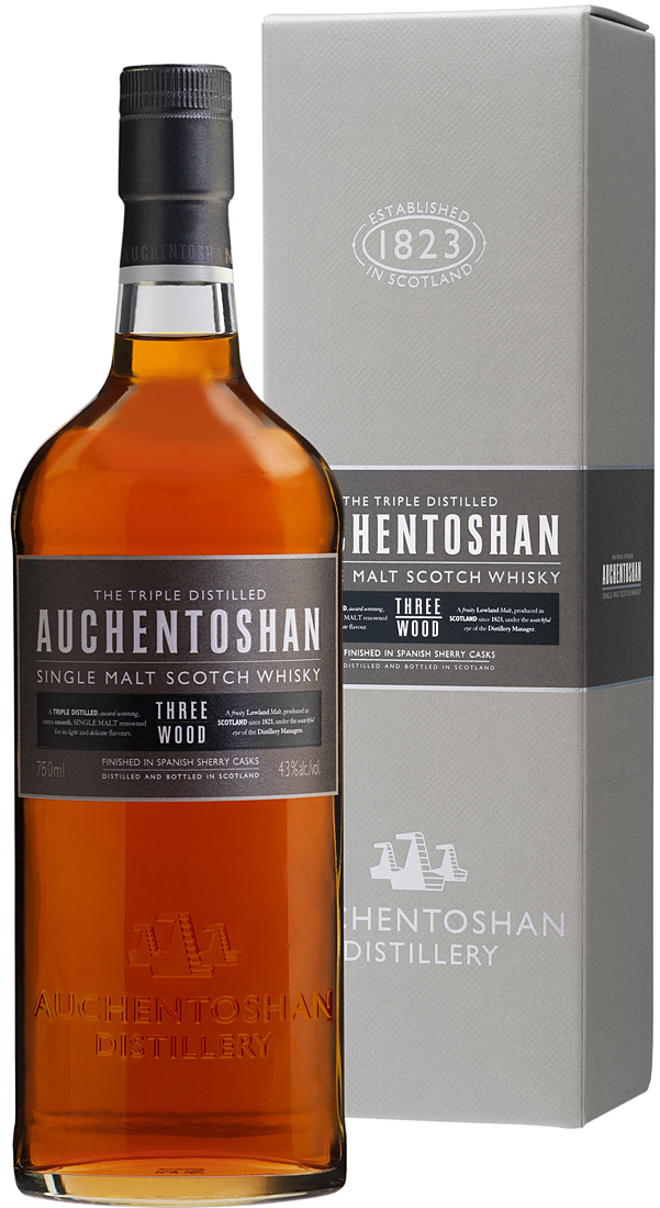 Auchentoshan Three Wood Single Malt Scotch