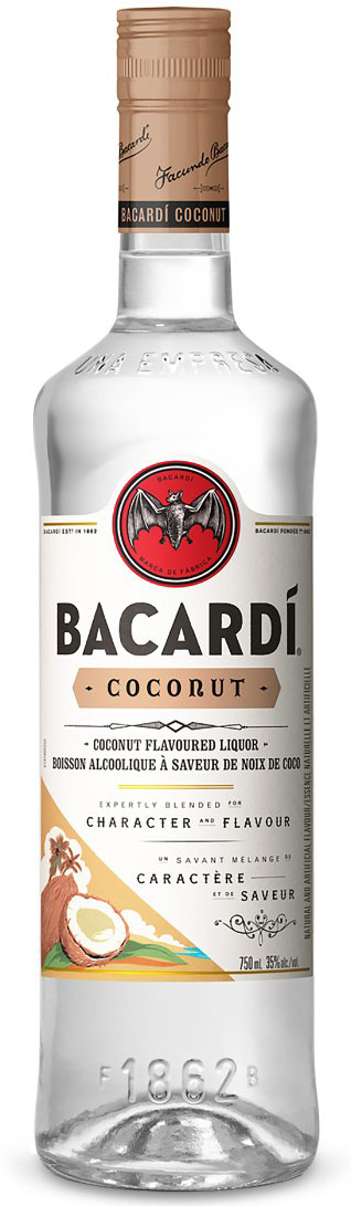 Bacardi Coconut Flavored Rum 1L