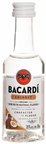 Bacardi Coconut Flavored Rum 50ML