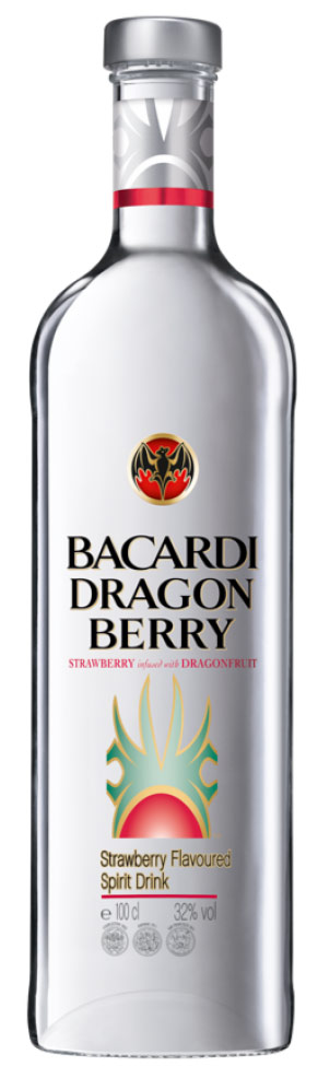 Bacardi Dragonberry Rum 1L