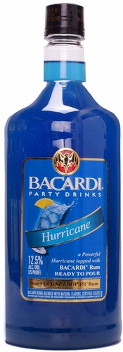 Bacardi Hurricane Cocktail 1.75L