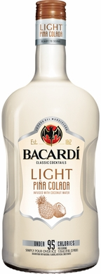 Bacardi Light Cocktails Pina Colada 1.75L