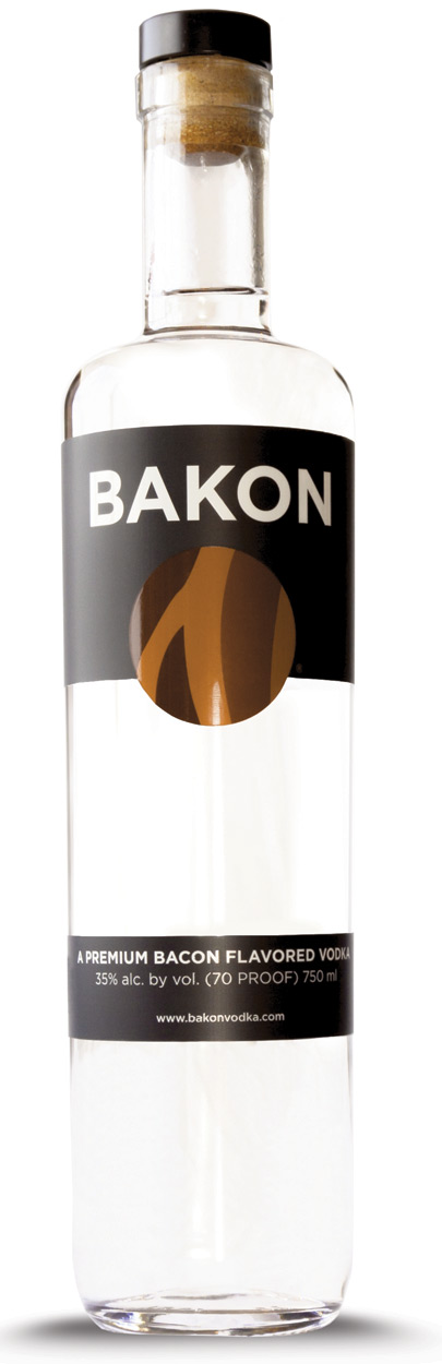 Bakon 'Bacon Flavored' Vodka