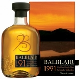 Balblair 1991 Single Malt Scotch