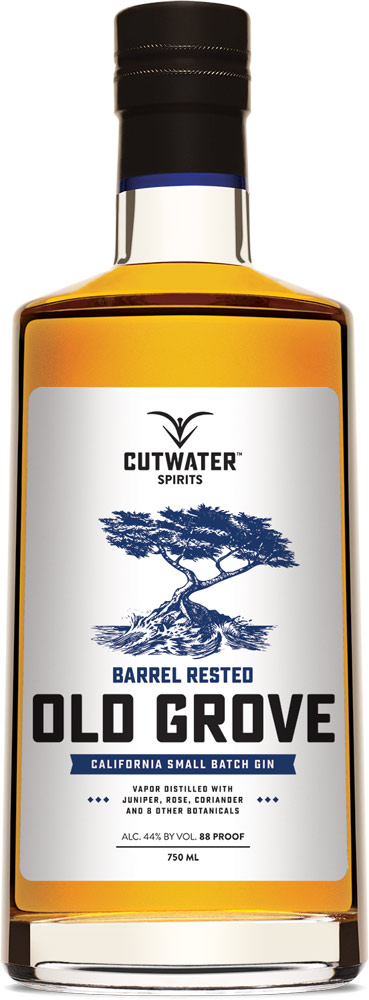 Cutwater Old Grove Barrel Rested Gin 750ML