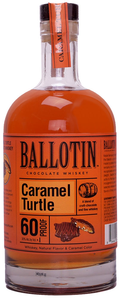 Ballotin Caramel Turtle Chocolate Flavored Whiskey