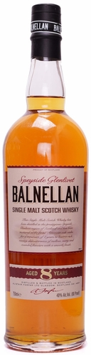 Balnellan Speyside Glenlivet 8 Year Old Single Malt Scotch