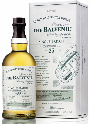 Balvenie 25 Year Old Single Barrel Single Malt Scotch