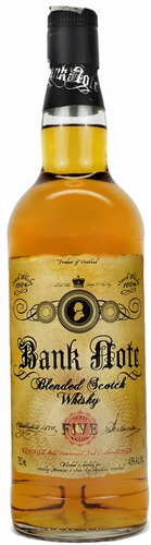 Bank Note Blended Scotch Whisky 750ML