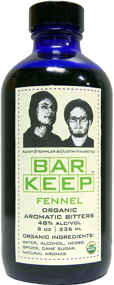 Bar Keep Fennel Organic Aromatic Bitters