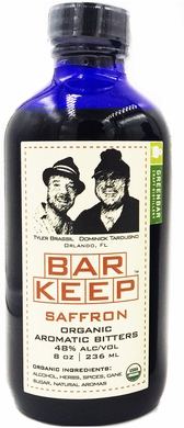 Bar Keep Saffron Organic Aromatic Bitters 8oz