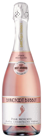 Barefoot Bubbly Pink Moscato 750ML