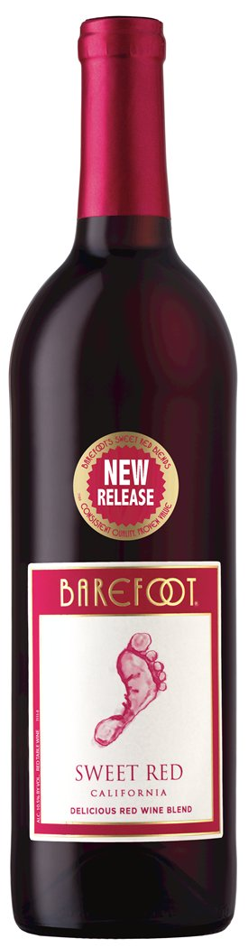 Barefoot Sweet Red (case of 12)