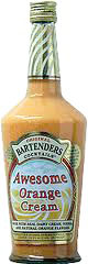 Bartenders Awesome Orange Cream Cocktail 1.75L