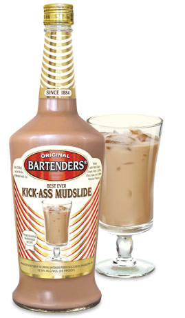 Bartender's Best Ever Kickass Mudslide Cocktail 1.75L