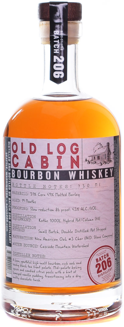 Batch 206 Old Log Cabin Bourbon