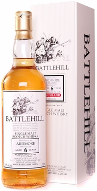 Battlehill Ardmore Peated 6 Year Old Single Malt Whisky