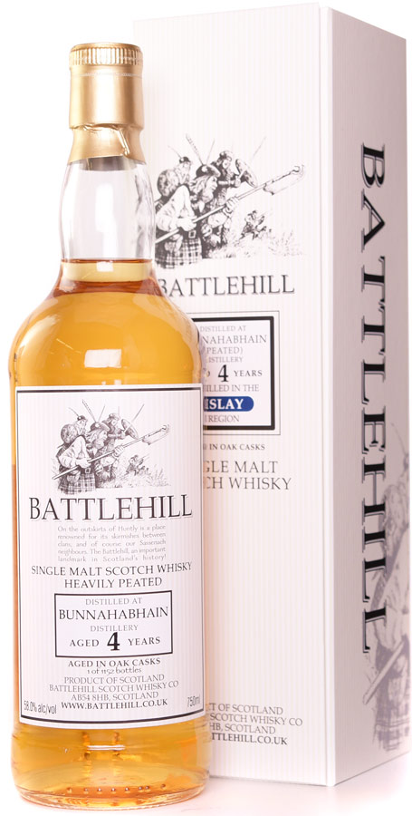 Battlehill Bunnahabhain 4 Year Old Single Malt Whisky