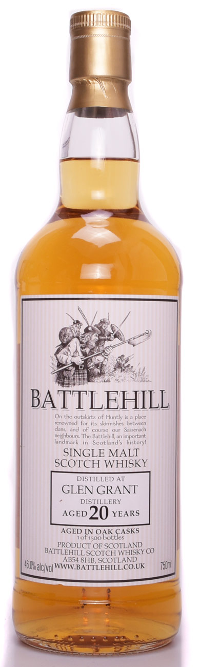Battlehill Glen Grant 20 Year Old Single Malt Scotch