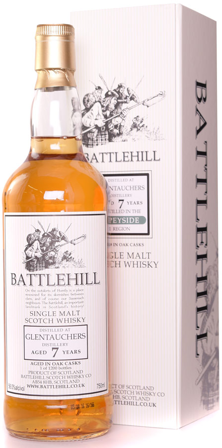 Battlehill Glentauchers 7 Year Old Single Malt Whisky