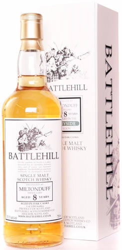 Battlehill Miltonduff 8 Year Old Single Malt Whisky
