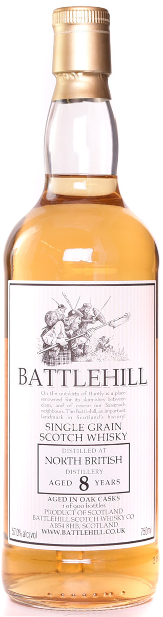 Battlehill North British 8 Year Old Single Grain Whisky